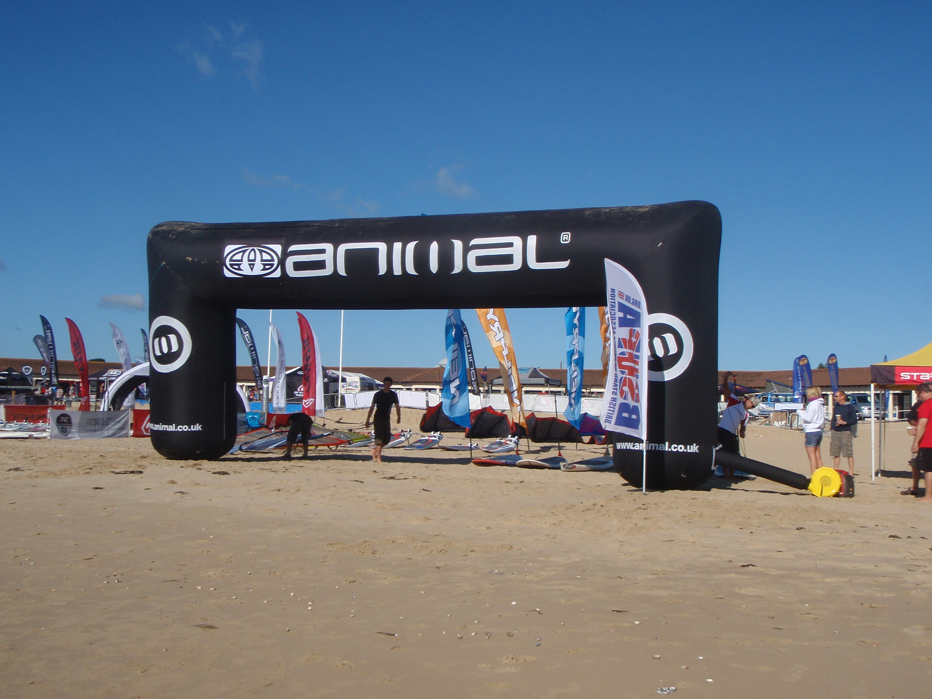 Animal Windfest SUP Sprints startline