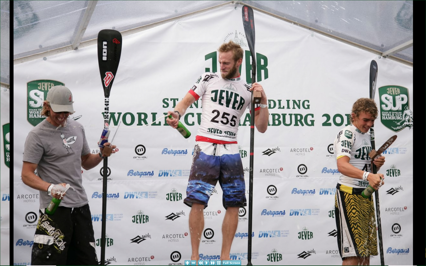 Jever SUP Worldcup 1st Place Amateur Distance