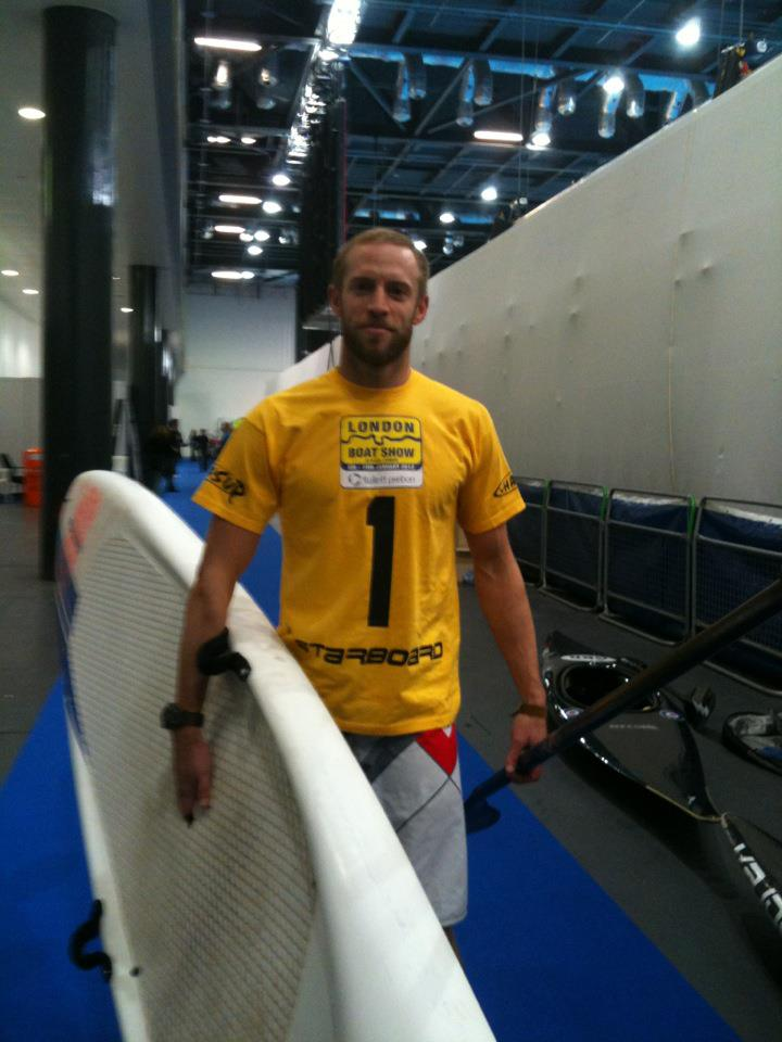 1st Place - Day 1 (wearing the yellow jersey)