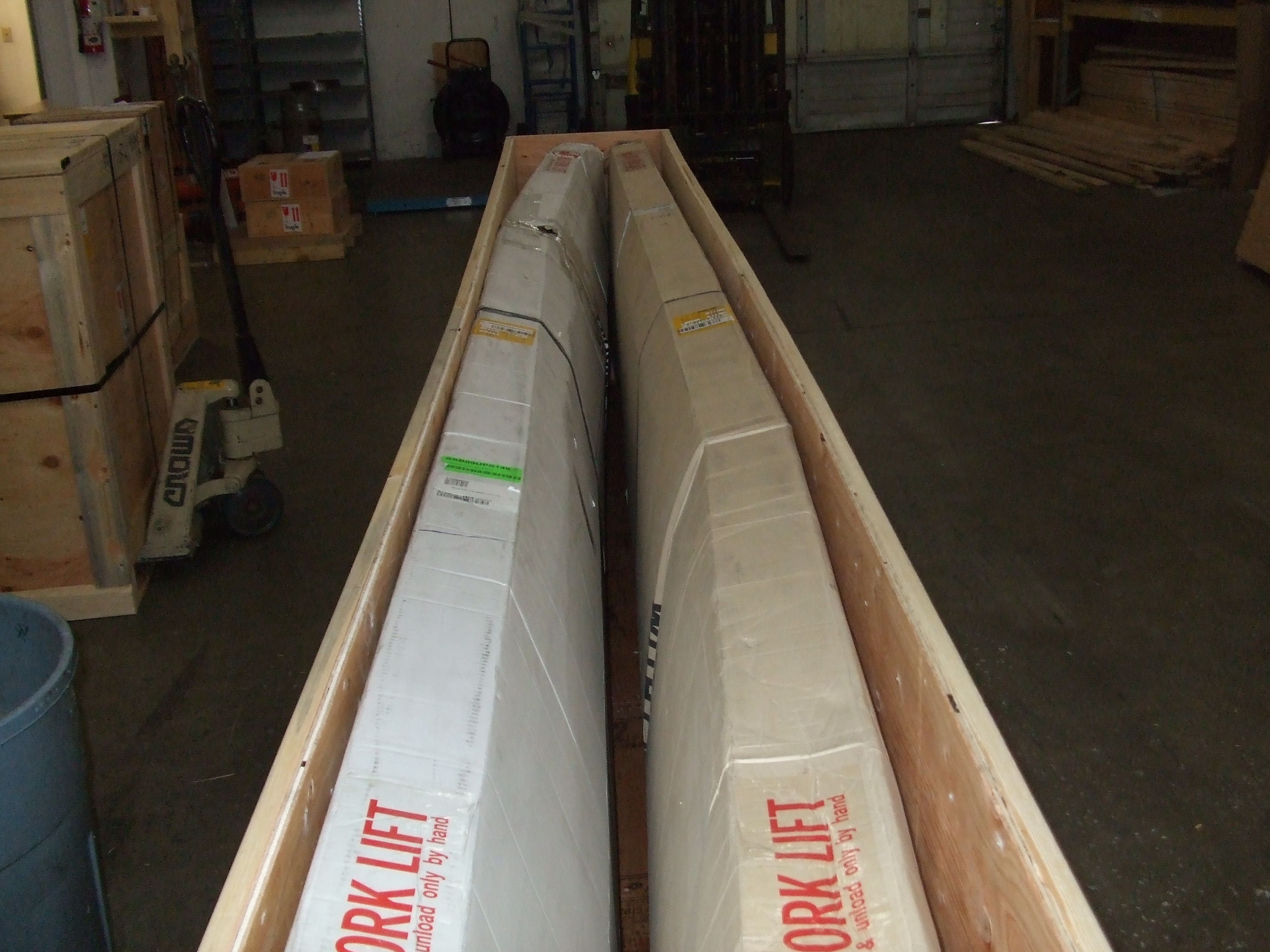 14'8 Starboard Points in a crate