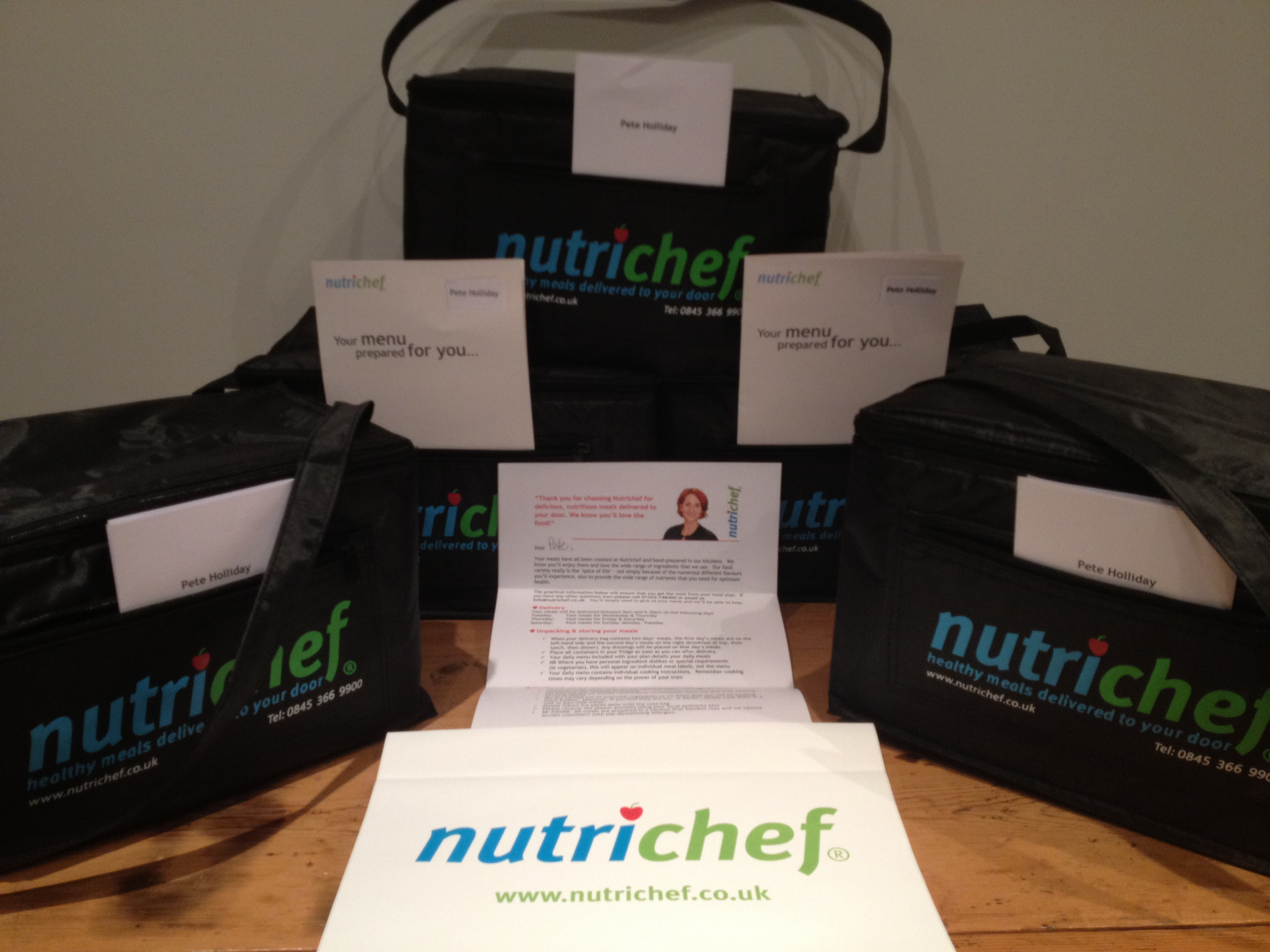 My Nutrichef delivery