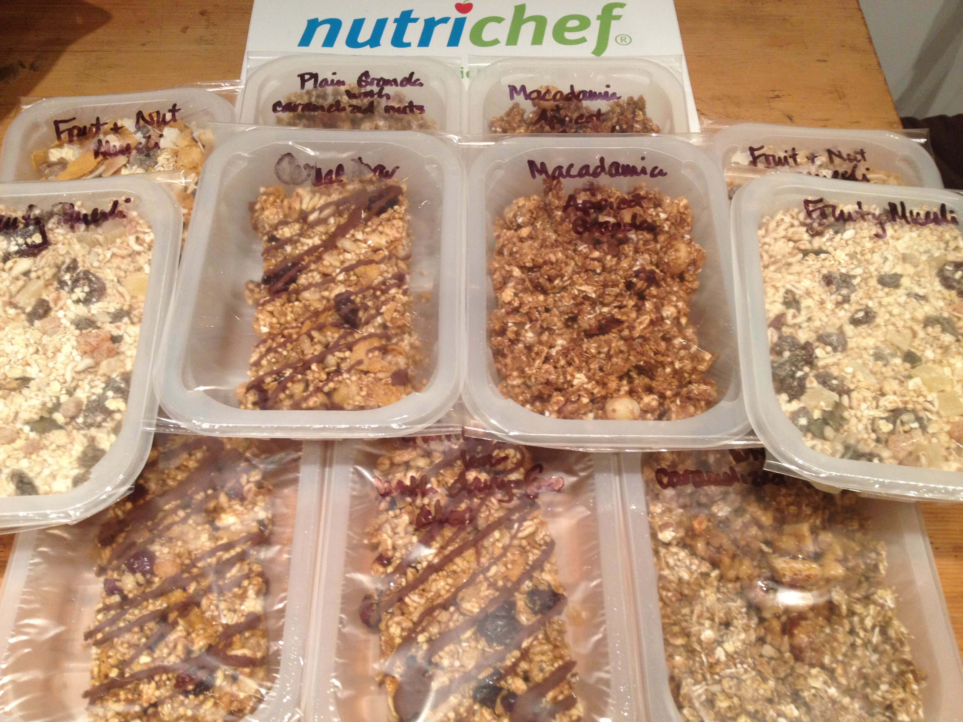Some amazing wheat-free muesli & cereal bars