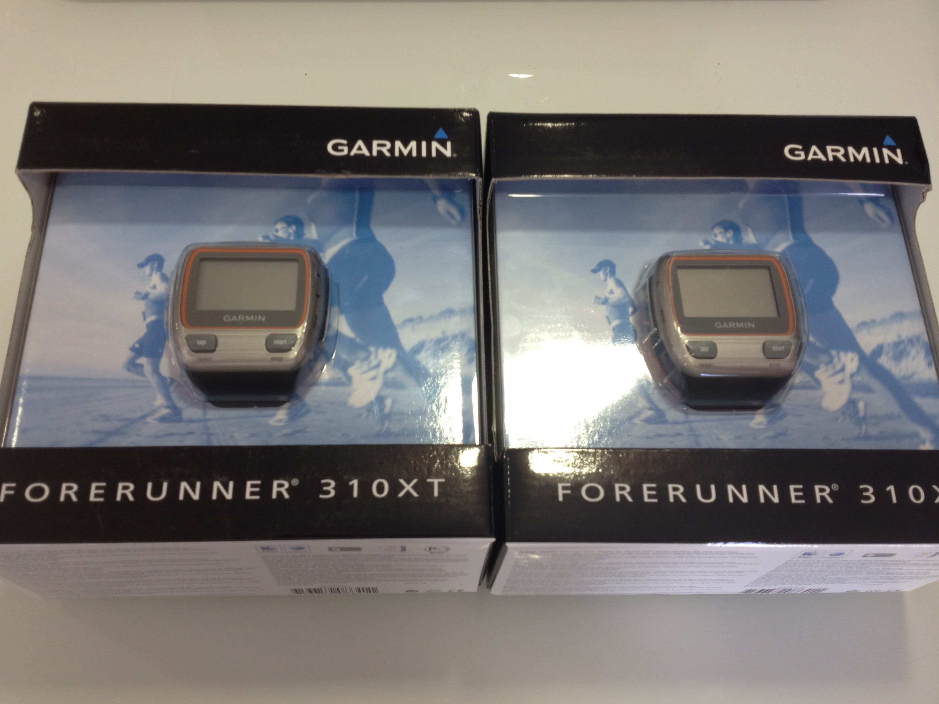 Awesome Garmin 310 xt's