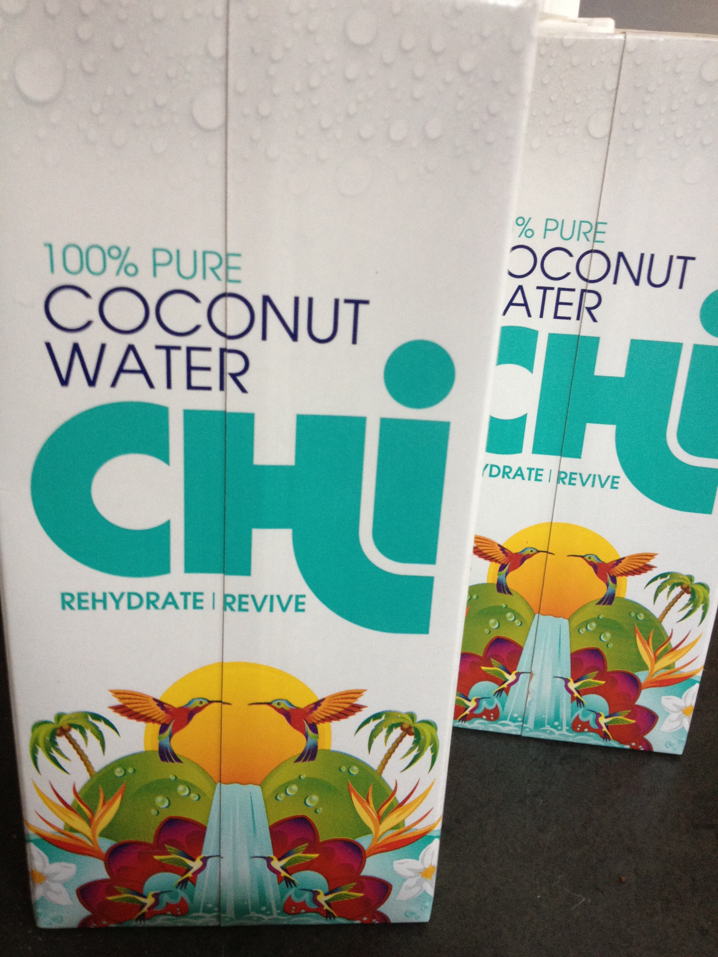 Quenching the thirst with Chi's Coconut water
