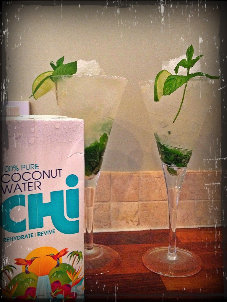 The Chi-jito - refreshing, healthy, non alcoholic cocktail